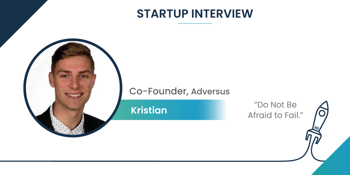 Startup Interview with Kristian Kirketerp, Co-Founder of Adversus