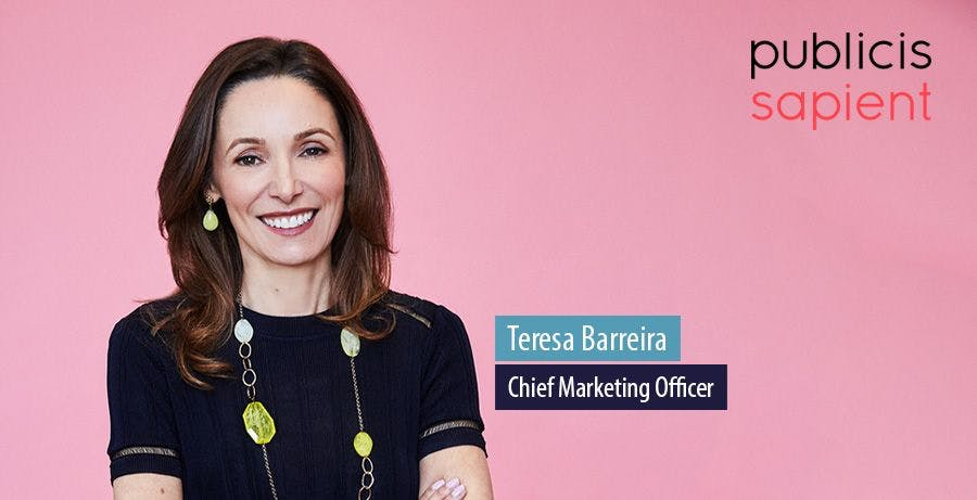 A day in the life of... Teresa Barreira, CMO at Publicis Sapient – Econsultancy
