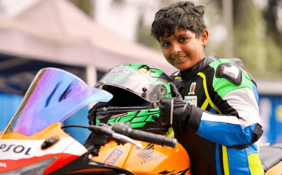 Not A Filmy Story: Father Quit Racing Due To Lack Of Funds, Son Fulfils Father's Dream At The Age Of 6