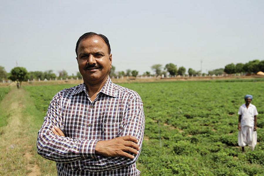 Quit Police Officer's Job To Pursue Passion For Farming , Now Earns Rs 3.5 Cr Annually