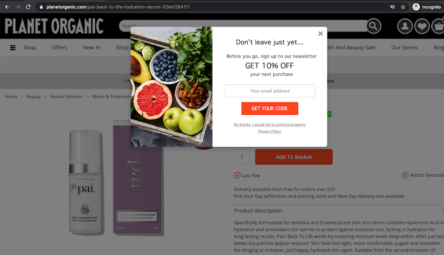 13 effective examples of email sign-up forms – Econsultancy