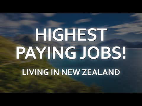 Highest Paying Jobs New Zealand