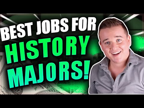 Highest Paying Jobs For History Majors!! (Top 10 Jobs)