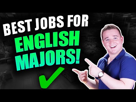 Highest Paying Jobs For English Majors! (Top 10)