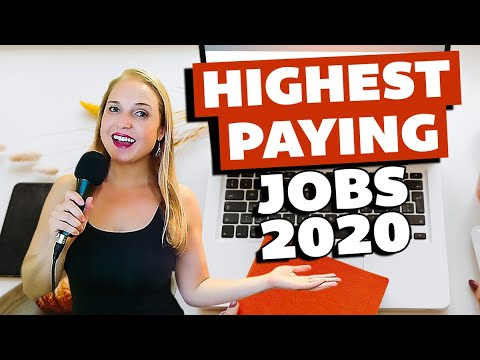 Make Money Online – Highest Paying Jobs in 2020 (LinkedIn and FlexJobs)