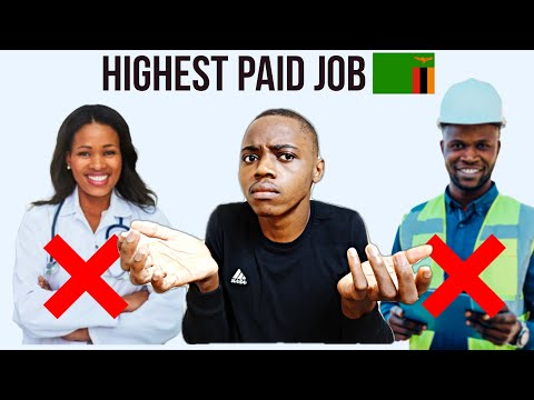 Top 10 Highest Paying Jobs in Zambia 🇿🇲 in 2021   PART 3