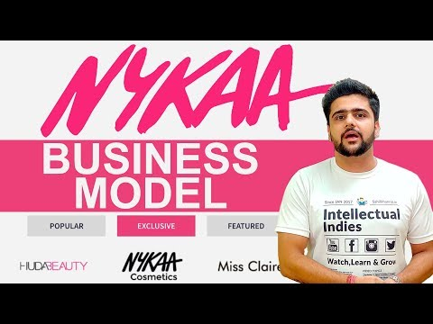 NYKAA Business Model   How Nykaa Earns?   Case Study   Hindi
