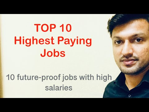 TOP 10 Highest Paying Jobs| In English & Malayalam | top future oriented courses