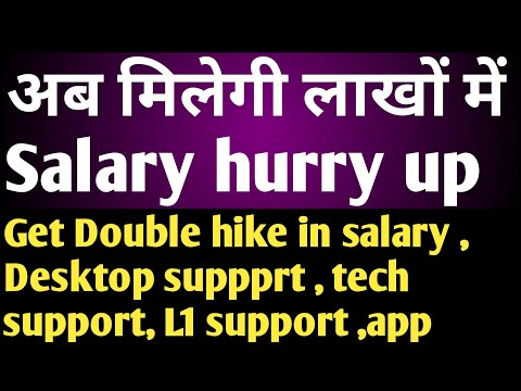 What is the Starting Salary (1 Lakh/Month) for Desktop Support job/Helpdesk Job ? Technical Support