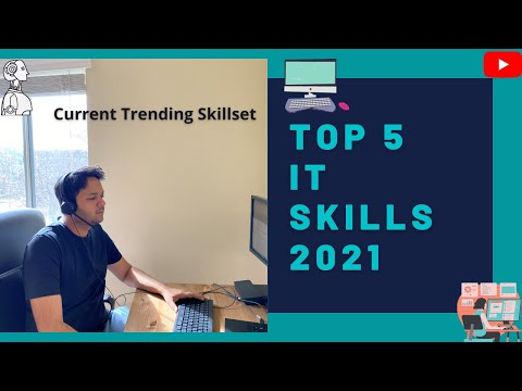 Top 5 Technology Skills  Highest paying IT Skills in 2021 Top 5 Skills for IT Professionals