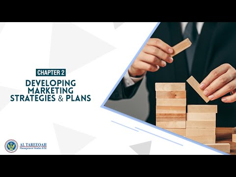 Chapter 2 – Developing Marketing Strategies & Plans   Marketing Management