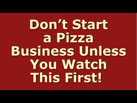 How to Start a Pizza Business | Including Free Pizza Business Plan Template