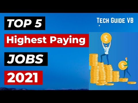 Top 5 Highest Paying Jobs In India For 2021 In Hindi    Best IT Career Options For Students in 2021