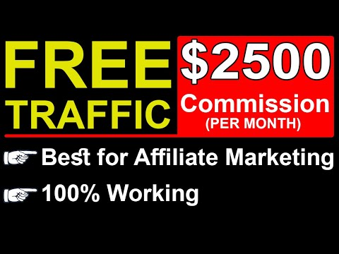 Free Traffic for Affiliate Marketing in Hindi | Free Traffic Methods (2021 / 2022)