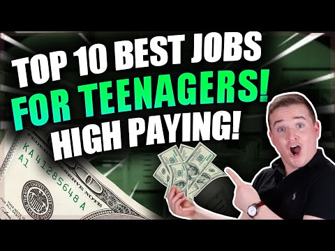 Top 10 Best Jobs For Teenagers! (High Paying)
