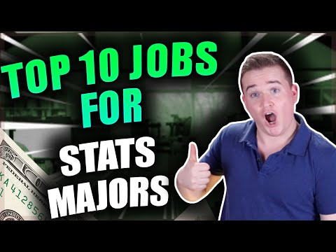 Highest Paying Jobs For Statistics Majors! (Top 10 Jobs)