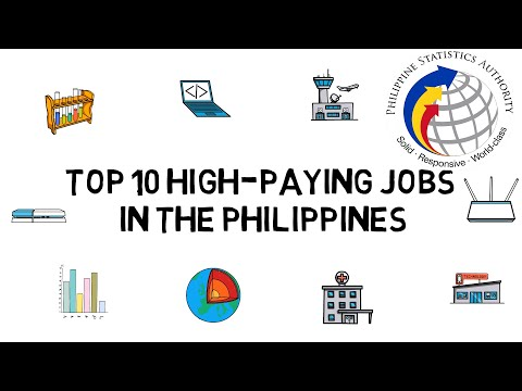 Top 10 HIGH-PAYING Jobs in the Philippines (and their College Courses) [2020]