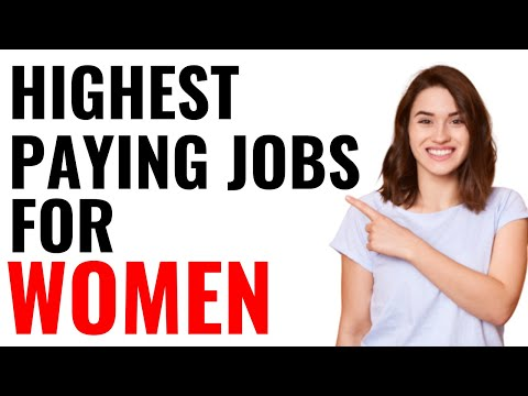 Top 10 best paying jobs for women