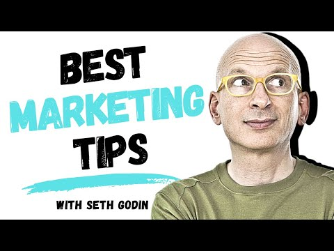 Best Marketing Tips and Strategies 2020 with Seth Godin