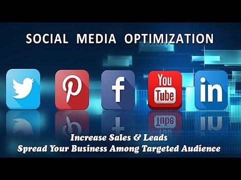 SMO (Social Media Optimization) / Digital Marketing 2021