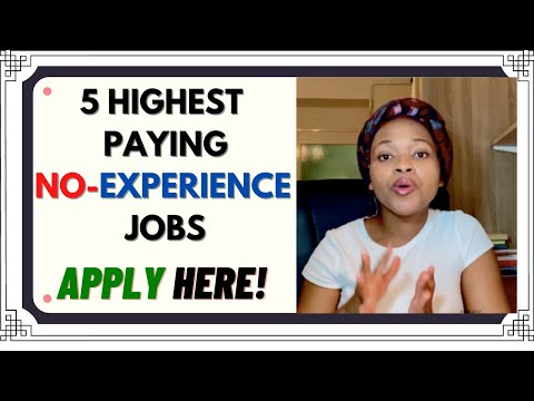 Highest Paying NO-EXPERIENCE JOBS//Legit online jobs 2020
