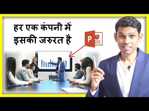 MS PowerPoint Hindi Tutorial for Beginners – Everyone Should learn this to create Presentation
