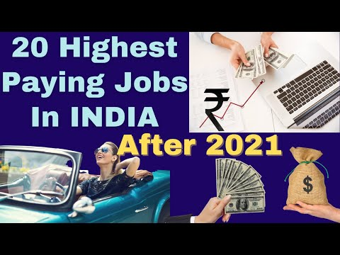 20 Highest Paying Jobs in India after 2020~Job Opportunities you don't want to miss(in Hindi) #short