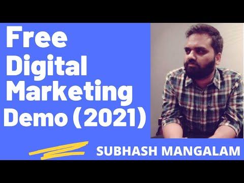 Free Digital Marketing Course Demo | Digital Marketing Course Syllabus 2021 | Curriculum