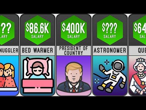 HIGHEST SALARY JOBS COMPARISON  : Probability Comparison