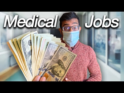 The 10 HIGHEST PAYING Medical Careers (Besides Doctors!)