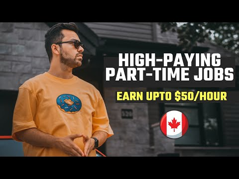 Highest Paying Part Time Jobs in CANADA