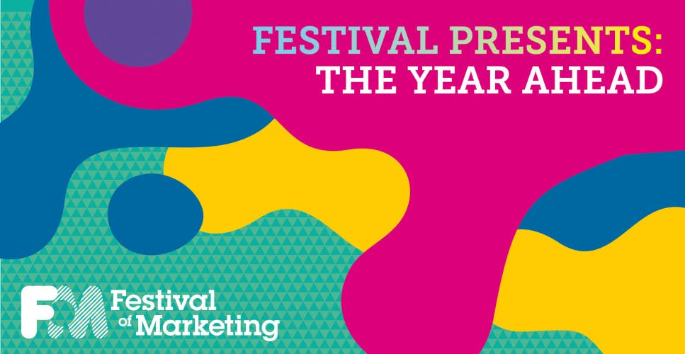 What not to miss at October's Festival of Marketing